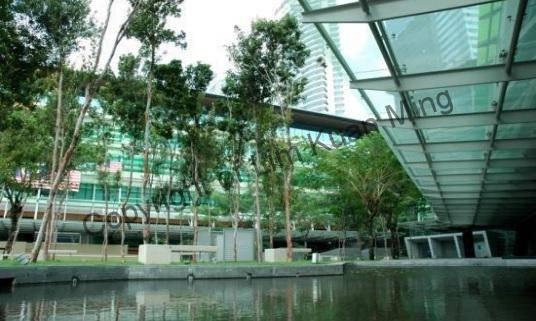 Platinum Sentral - Garden Area