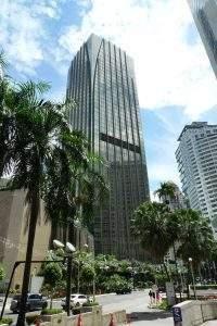 Menara Darussalam located along Jalan Pinang. The frontage is Grand Hyatt Kuala Lumpur - Search Office KL
