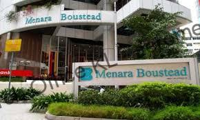 Menara Boustead located along Jalan Raja Chulan offers Office Space for Rent