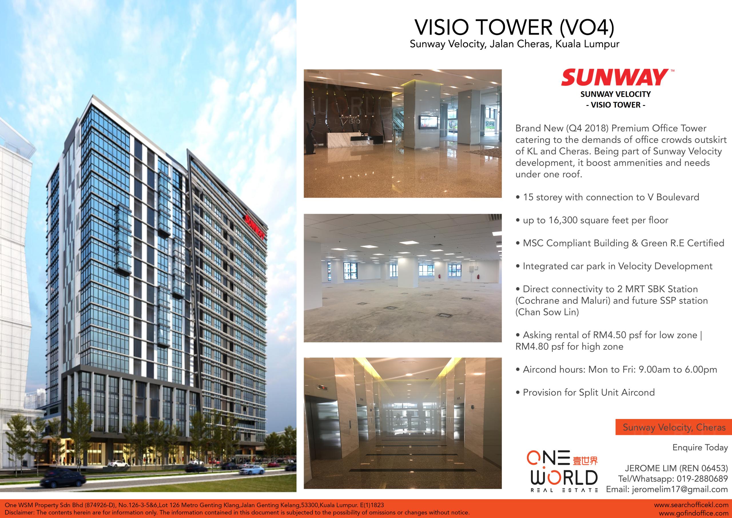 Visio Tower @ Sunway Velocity